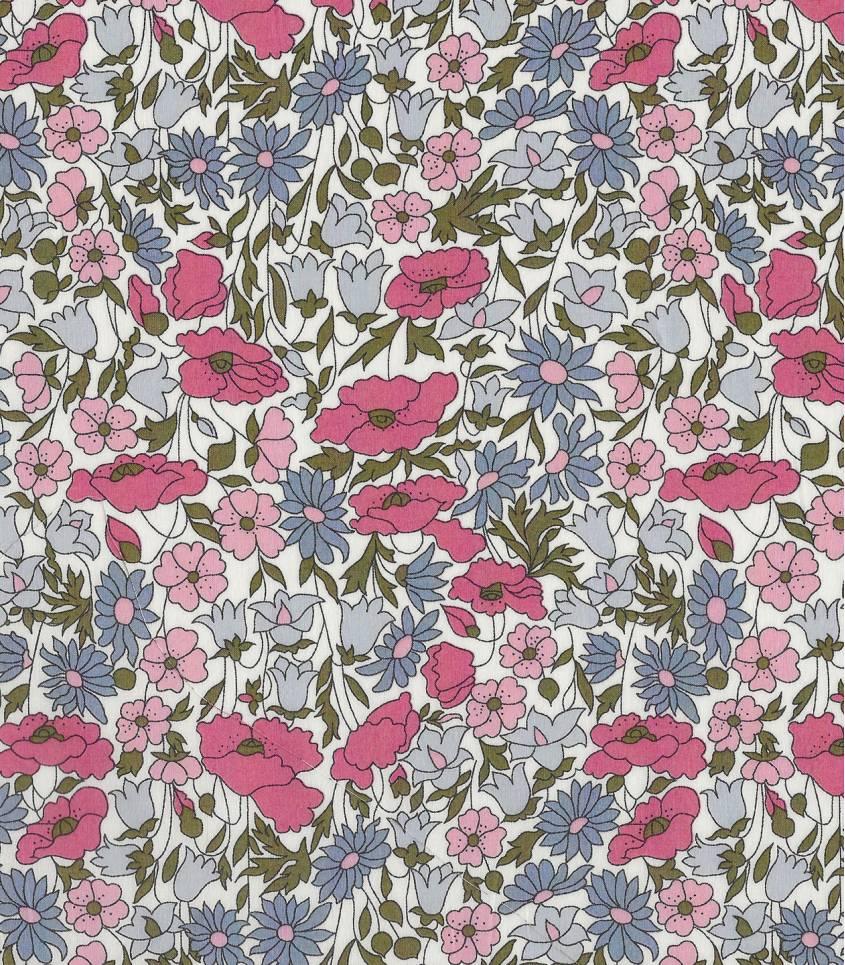 Liberty Poppy & Daisy hortensia
