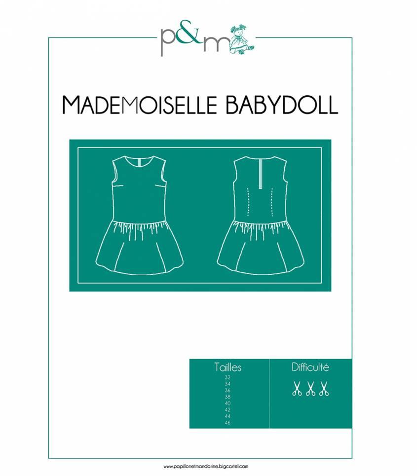 Top (& robe) Mademoiselle Babydoll