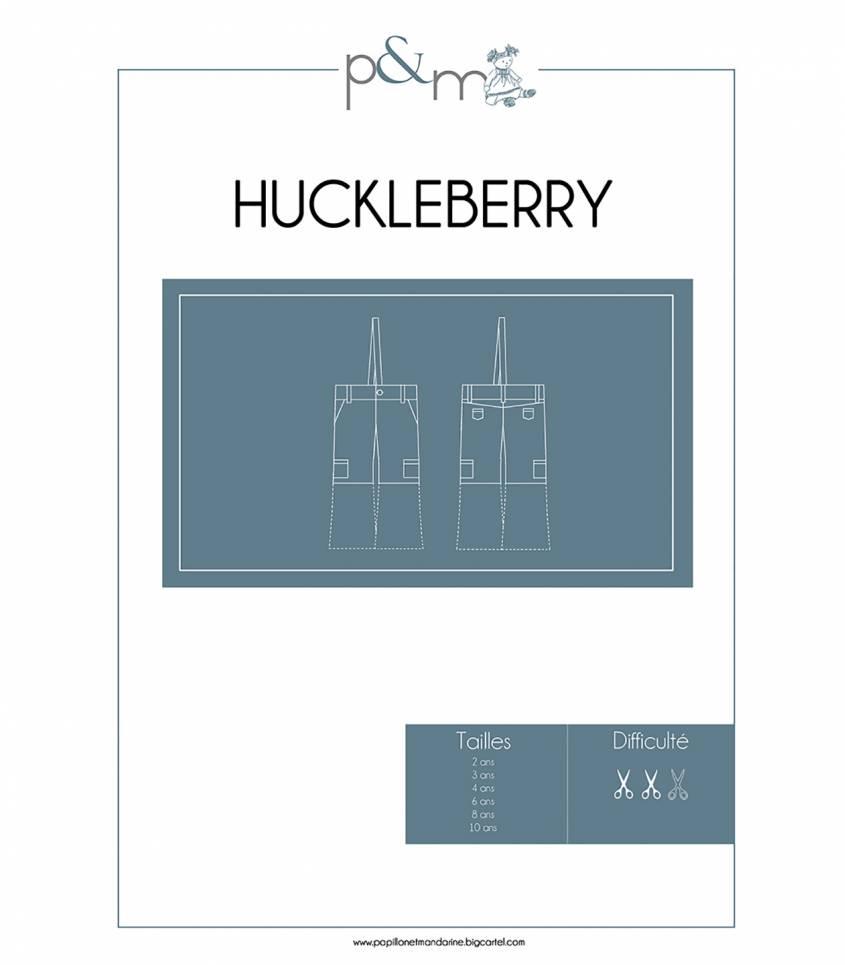 Patron Pantalon Huckleberry