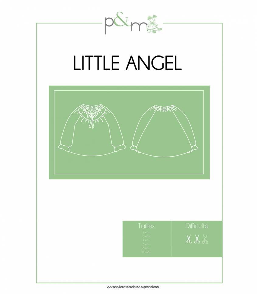 Patron Blouse Little Angel