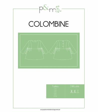 Patron Blouse Colombine