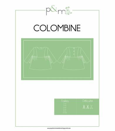 Patron Blouse Colombine