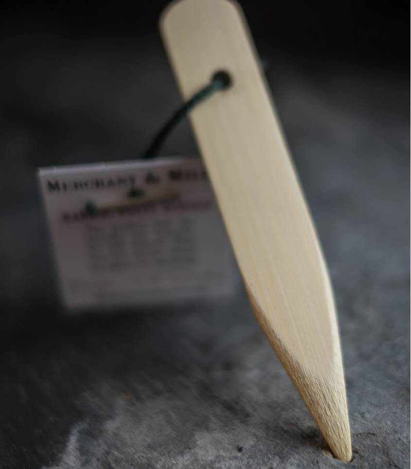 Bamboo point turner