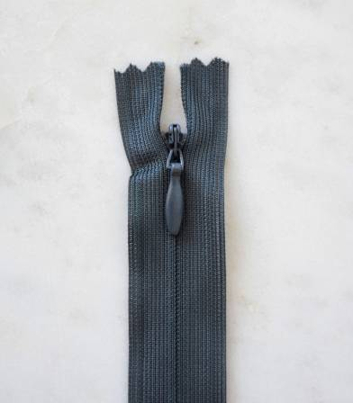Fermeture éclair invisible- gris anthracite 450