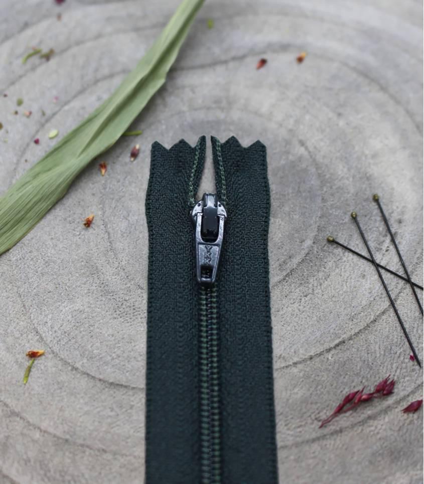 Zip AB 20cm - Forest