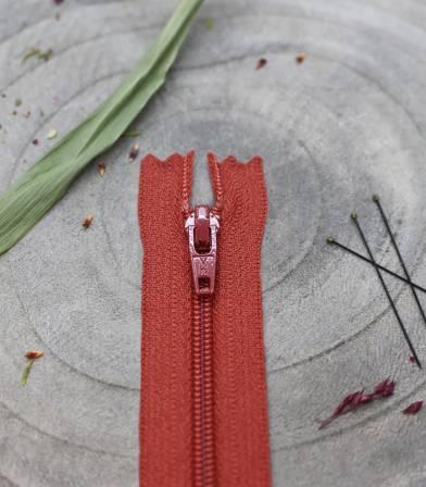 Zip AB 20cm - Terracotta