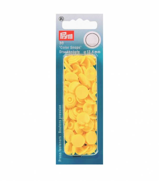 Baby snap banane 12,4mm - PRYM
