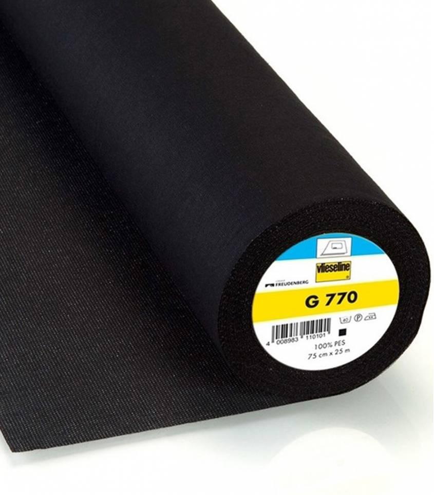 Entoilage thermocollant noir G770