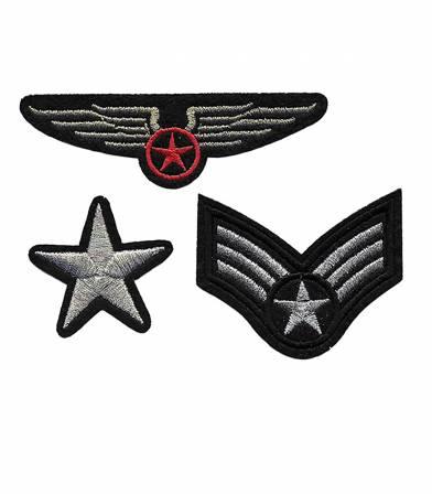 Ecusson thermocollant - Trio Air Force