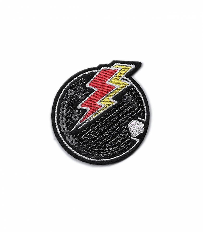 Ecusson thermocollant Lightning