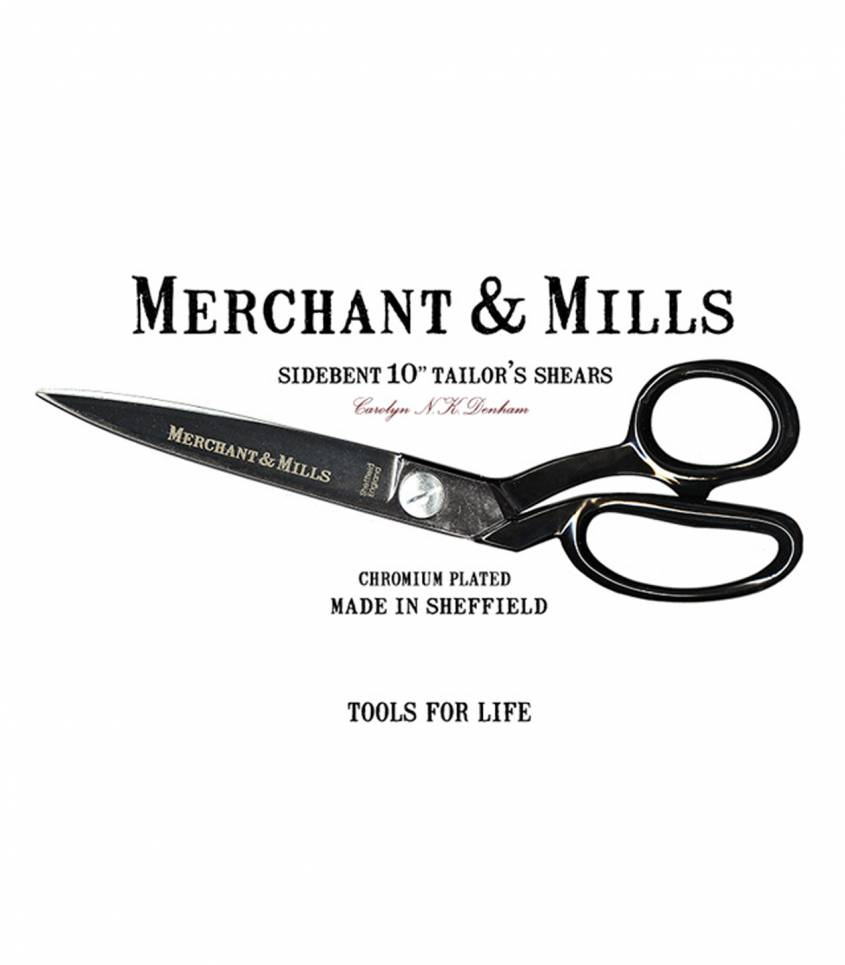 Sidebent Tailors Shears 10""