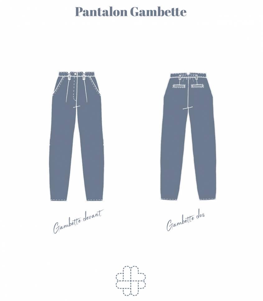 Pantalon Gambette