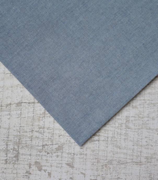 Chambray bleu jean