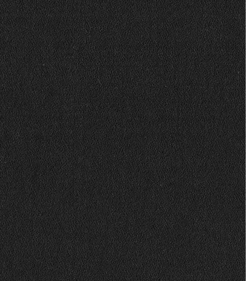 Crêpe de coton bio noir