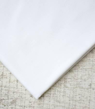 Piqué de coton blanc