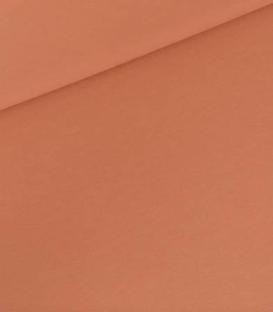 Tissu French terry - Hazel Brown