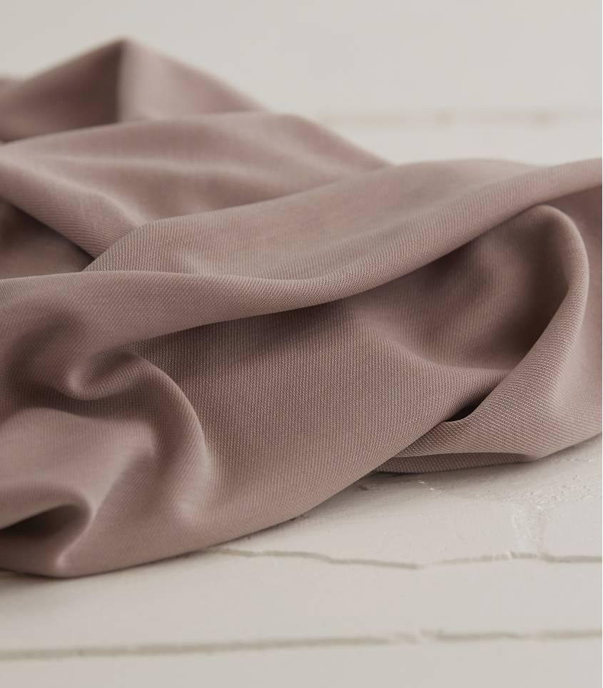 Tissu modal double knit - Nude