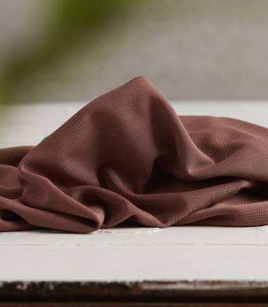 Tissu modal double knit - Cider