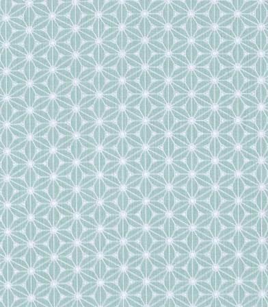 Tissu coton Fuji - Menthe