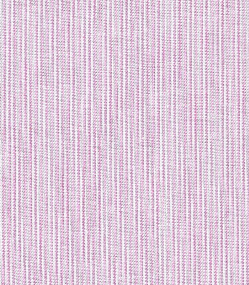 Tissu Fines rayures - rose