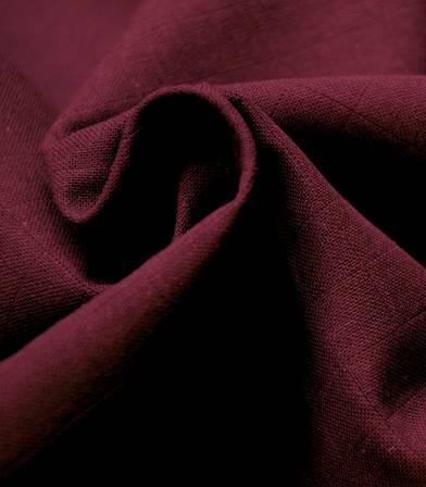 Tissu lange bordeaux