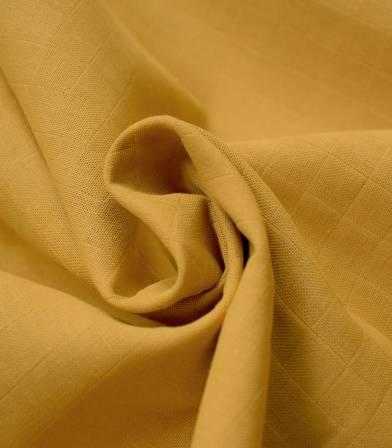 Tissu lange moutarde