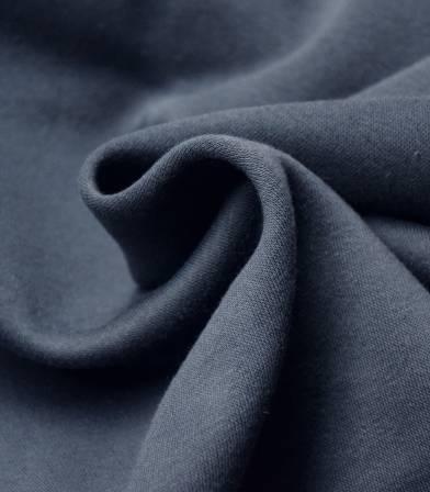 Tissu molleton marine