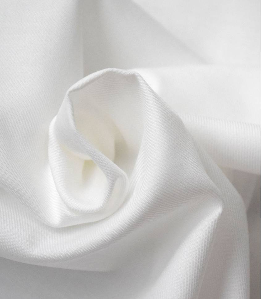 Twill blanc