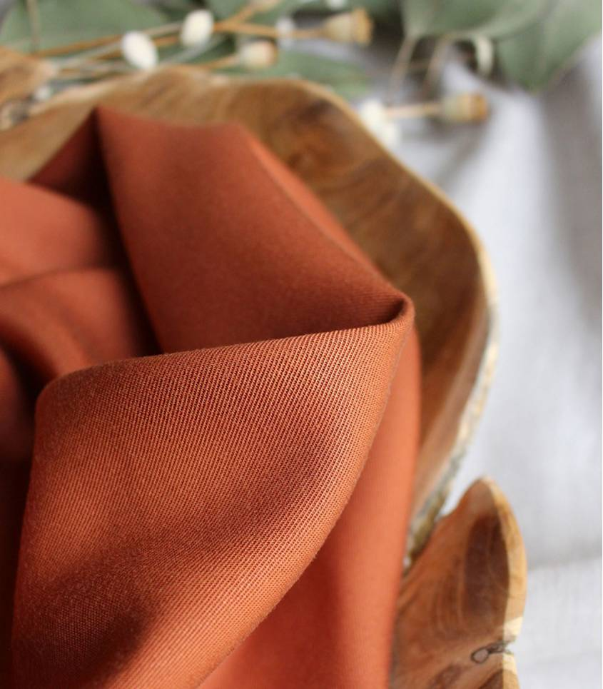 Tissu Tencel Chesnut