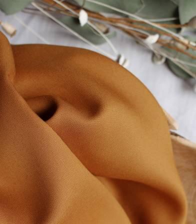 Tissu Tencel Ochre