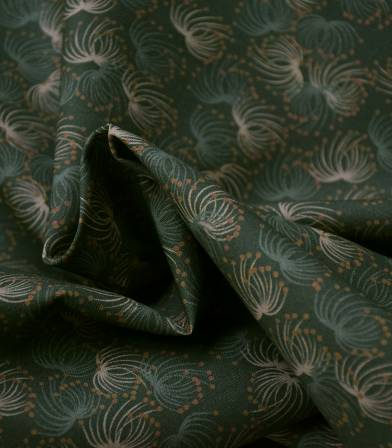 Tissu coton bio - Baies d'hiver