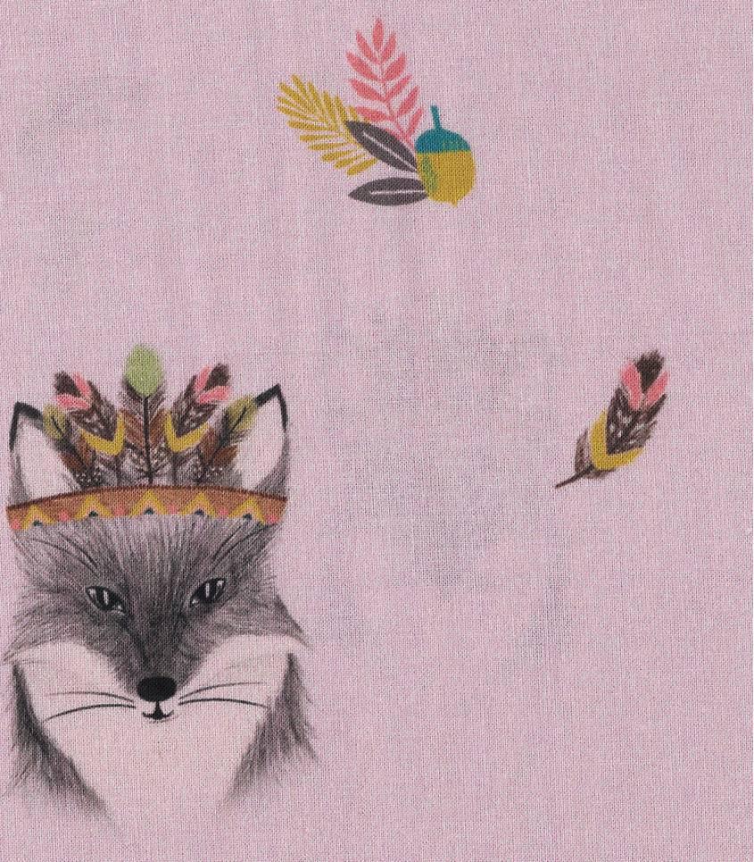 Popeline - Main Fox Pink