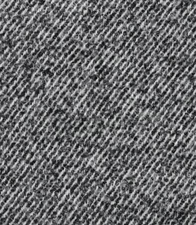 Tissu manteau - Rayures diagonales grises