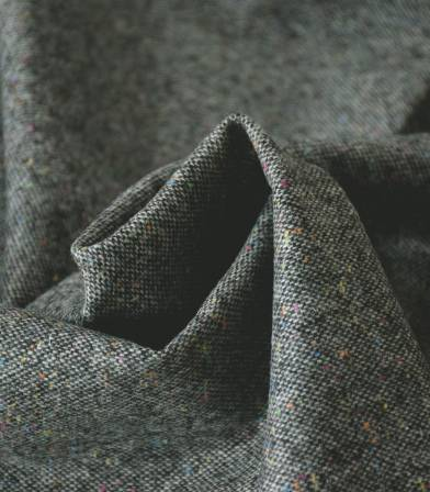 Tissu tweed multico