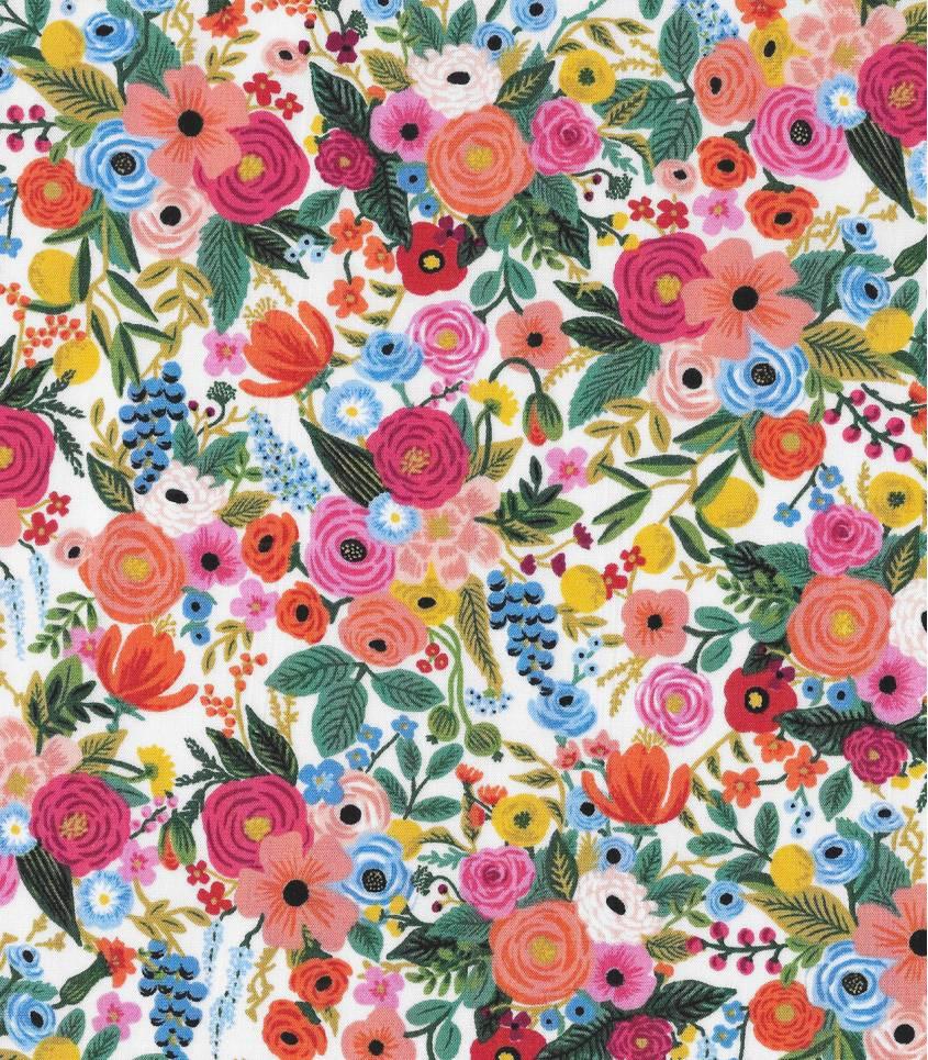 Tissu Petite Garden Party - Pink