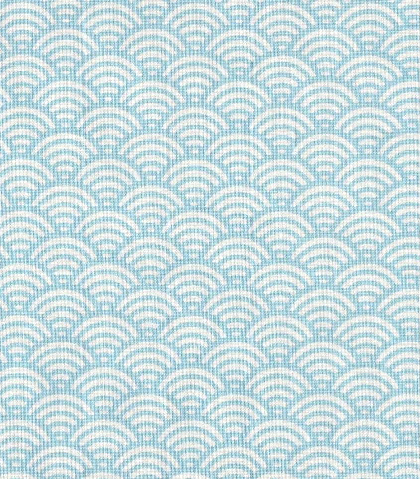 Tissu japonais Sushi ciel