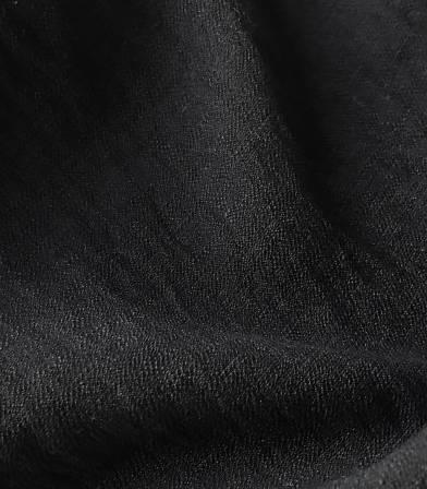 Crêpe viscose texturé - noir