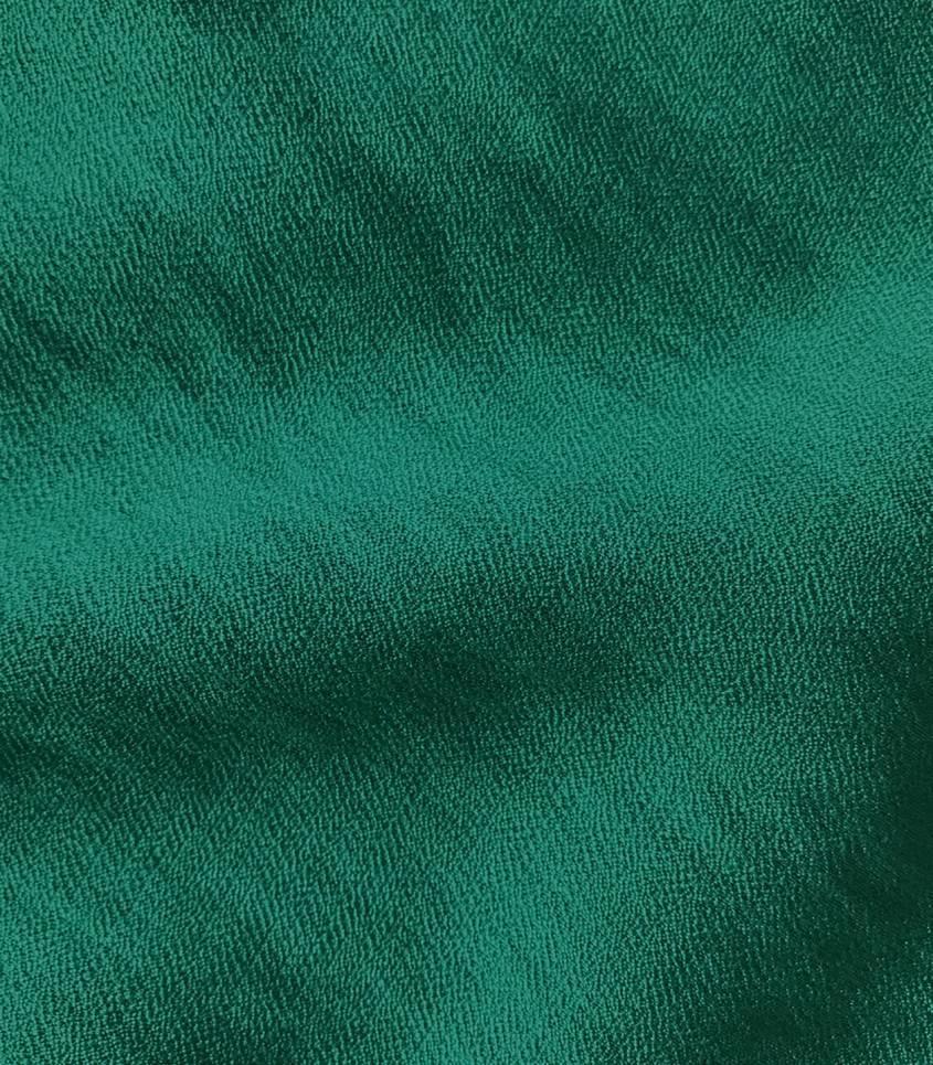 Crêpe viscose texturé - émeraude