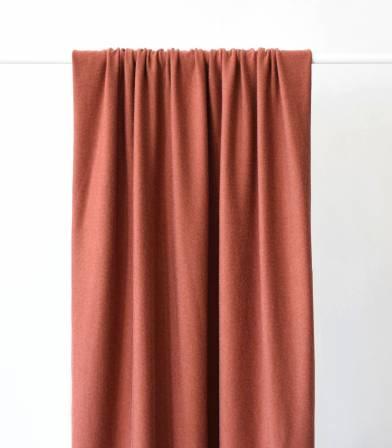 Tissu jersey viscose roux