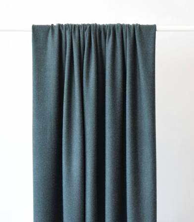 Tissu jersey viscose vert de gris