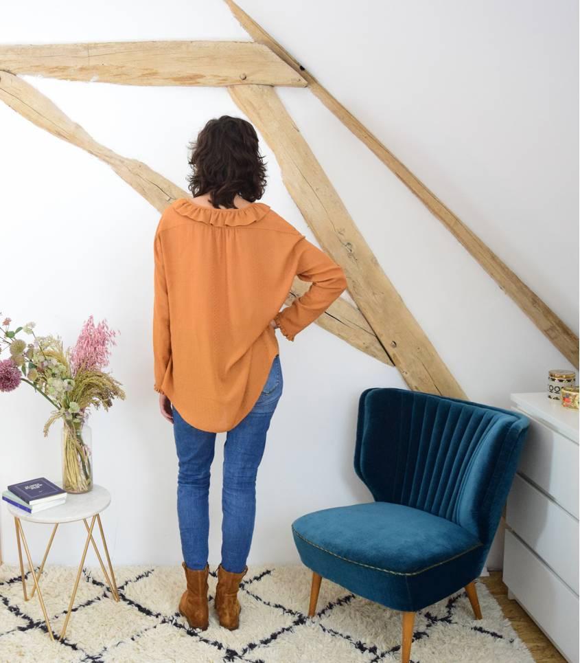 Ma blouse Yvette - Argan