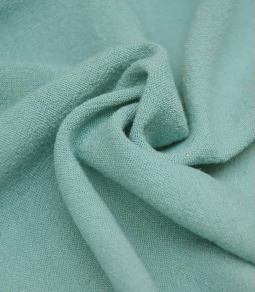 Tissu Lin / viscose - vert Céladon