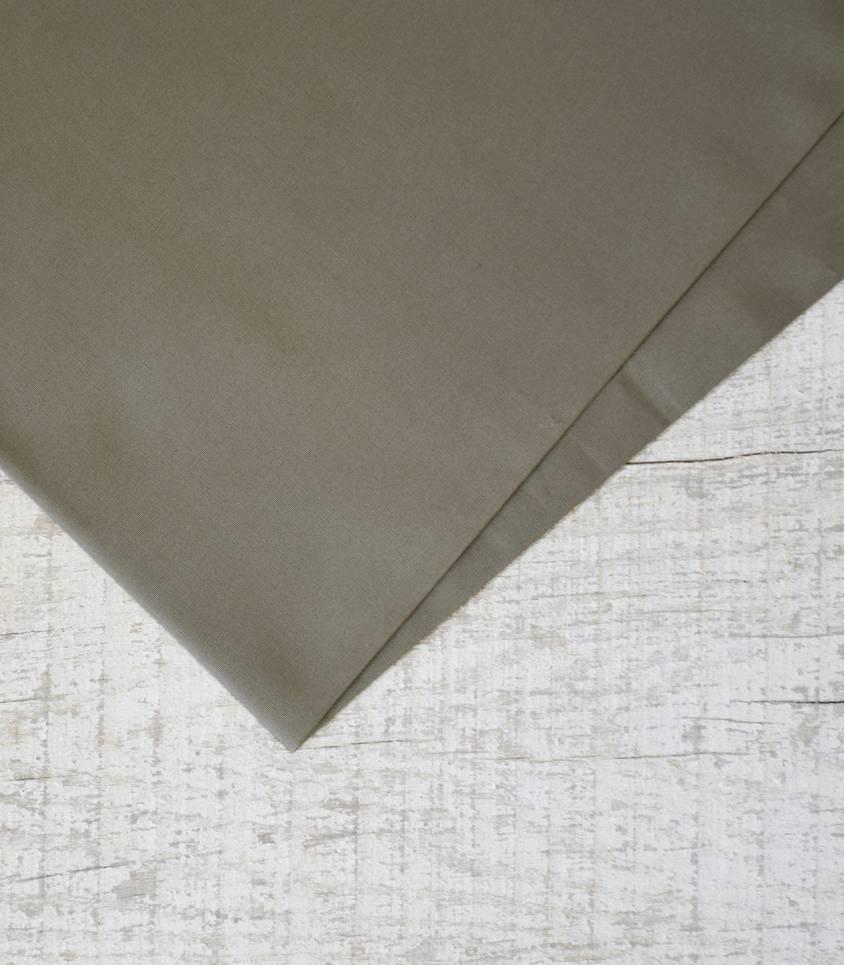 Tissu popeline de coton châtaigne
