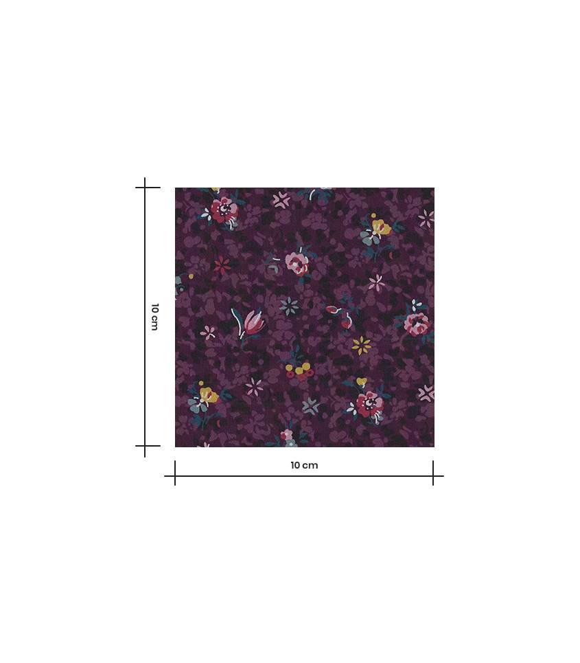 Tissu Liberty Chiara - Prune