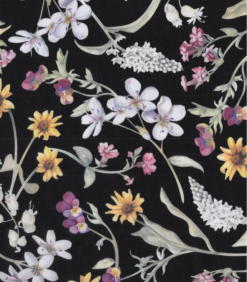 Tissu Liberty Primavera - Black