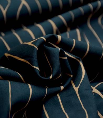 Tissu Orchad Lane - Black