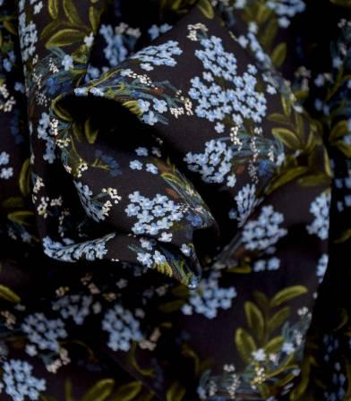 Tissu Corn Flower - Navy