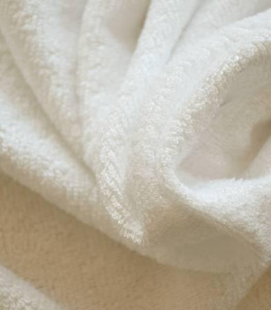 Tissu éponge bambou - ecru