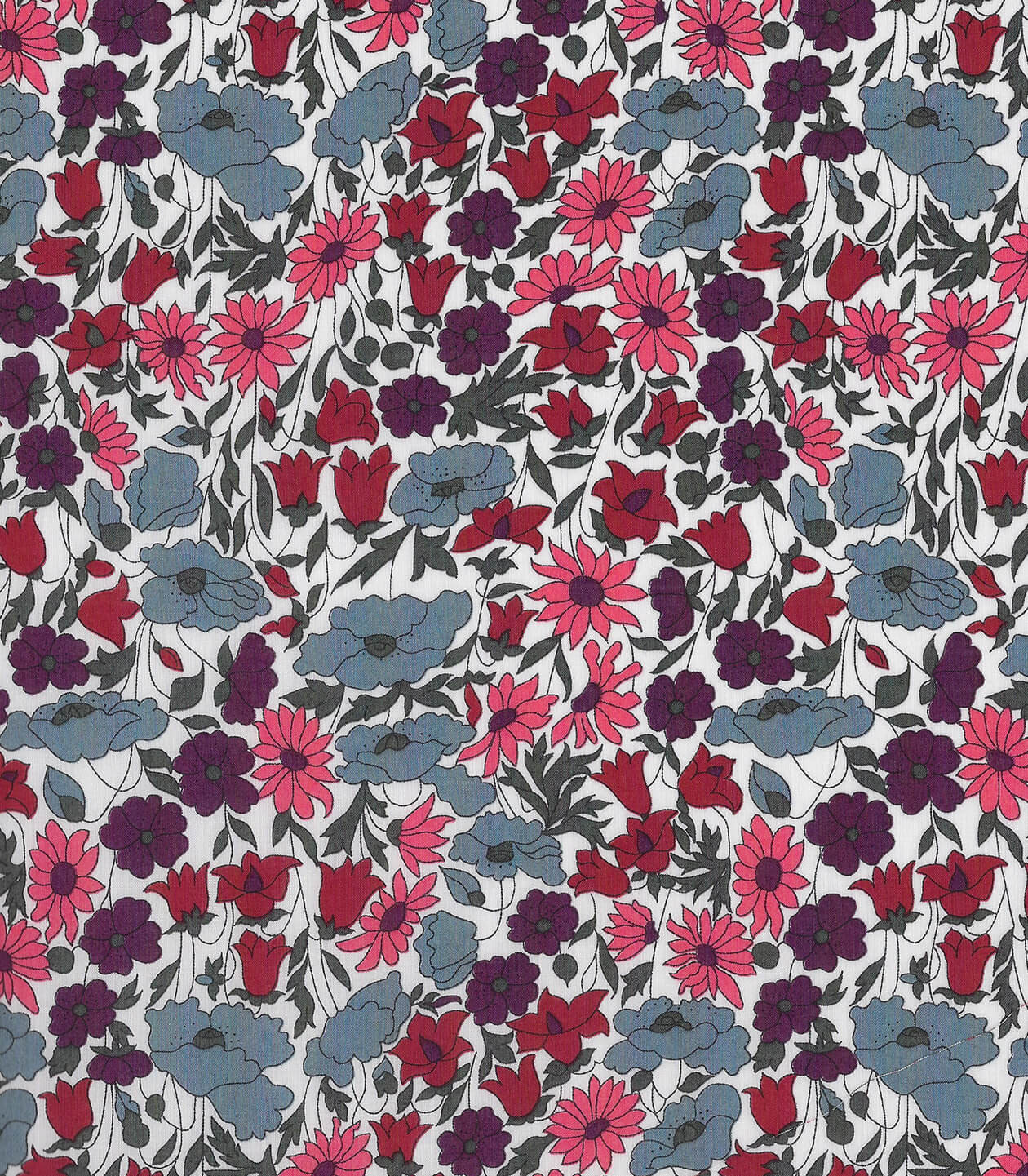 Tissu Liberty Poppy & Daisy Fruits des bois