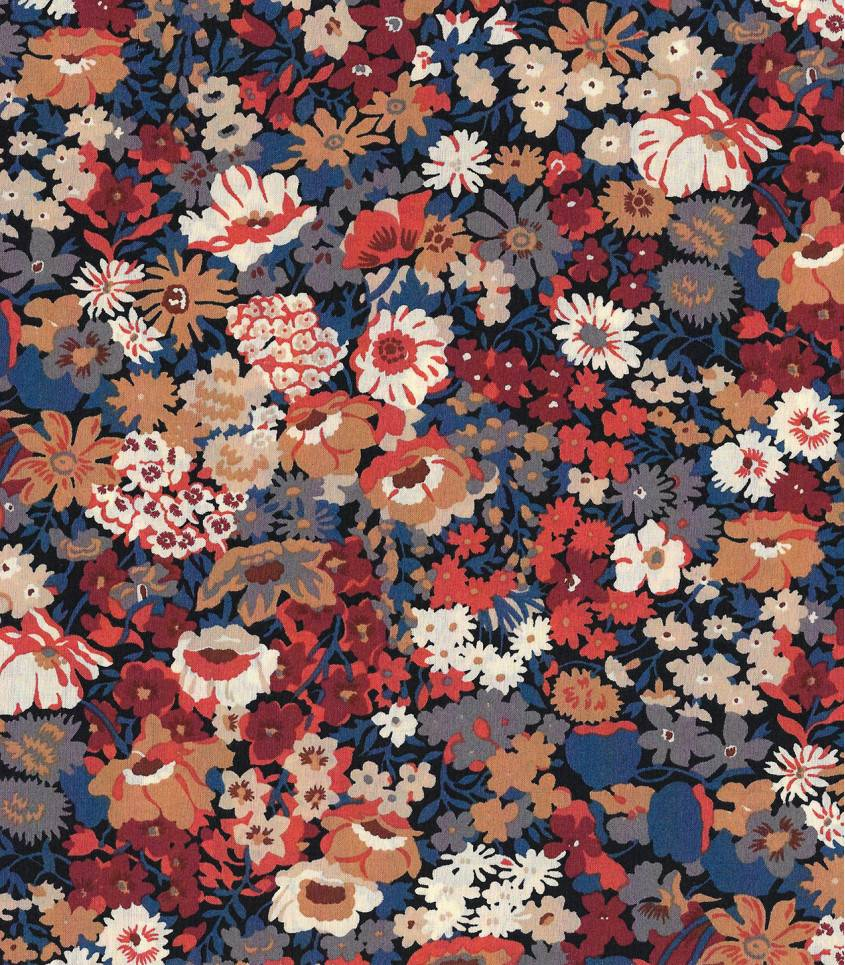 Tissu Liberty Thorpe Burnt orange